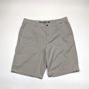 Hurley Vertigo Dri Fit Mens Size 36 Gray Shorts